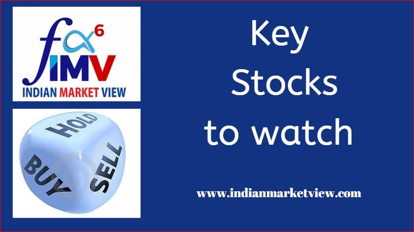 Key Stocks To Watch For 18th Oct 2019... Don't miss it!!